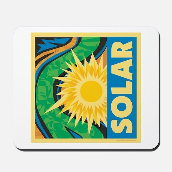 Solar Energy Mousepad
