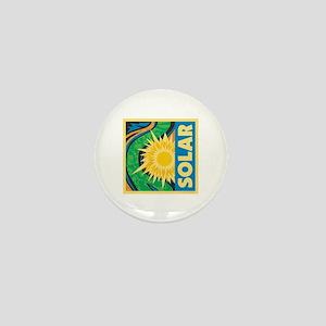 Solar Energy Mini Button