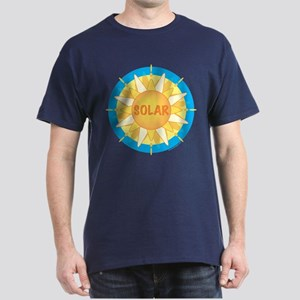 Solar Sun Dark T-Shirt