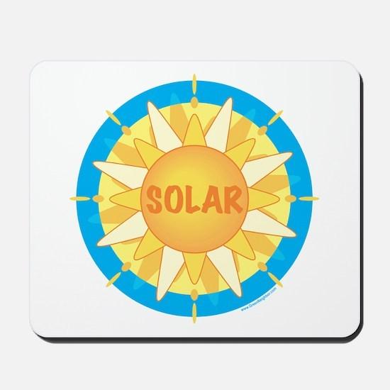 Solar Sun Mousepad