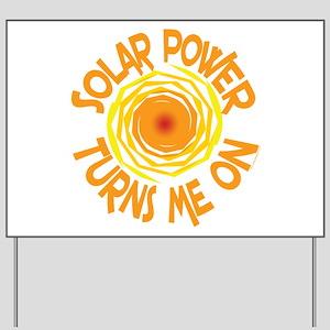 Solar Energy Yard Sign