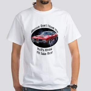 Olds 4-4-2 White T-Shirt