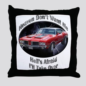 Olds 4-4-2 Throw Pillow