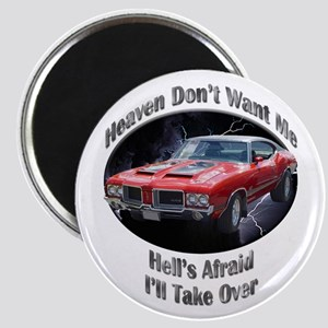Olds 4-4-2 2.25 Inch Magnet (10 pack)