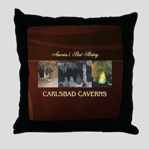 Carlsbad Caverns Americasbesthistory. Throw Pillow
