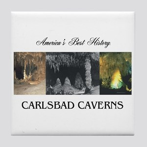 Carlsbad Caverns Americasbesthistory. Tile Coaster