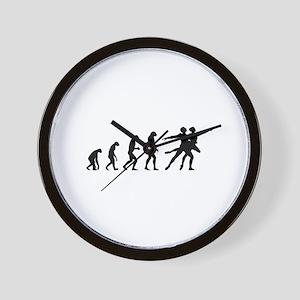 Evolution ballet Wall Clock