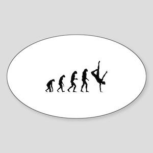Evolution ballet Sticker (Oval)