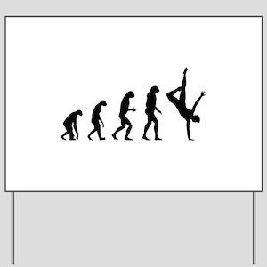 Evolution ballet Yard Sign