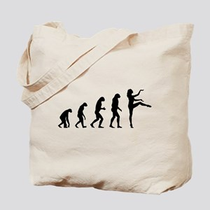 Evolution ballet Tote Bag