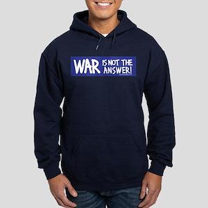 War Peace Hoodie (dark)