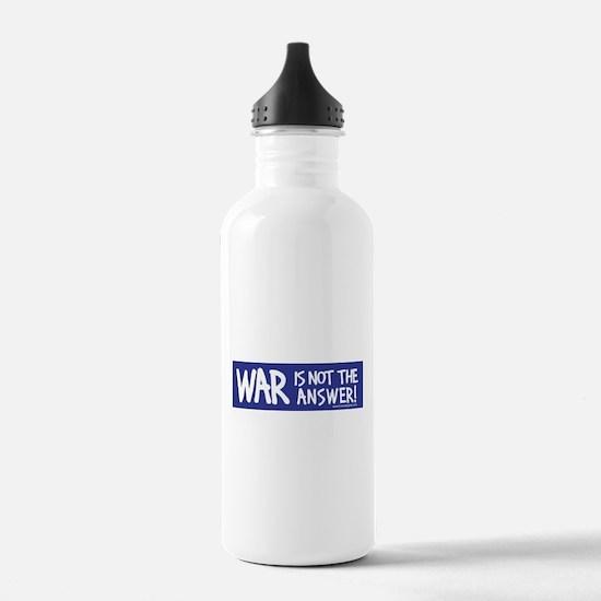 War Peace Water Bottle
