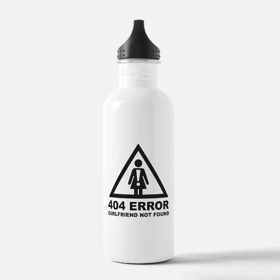 Girlfriend Not Found Water Bottle