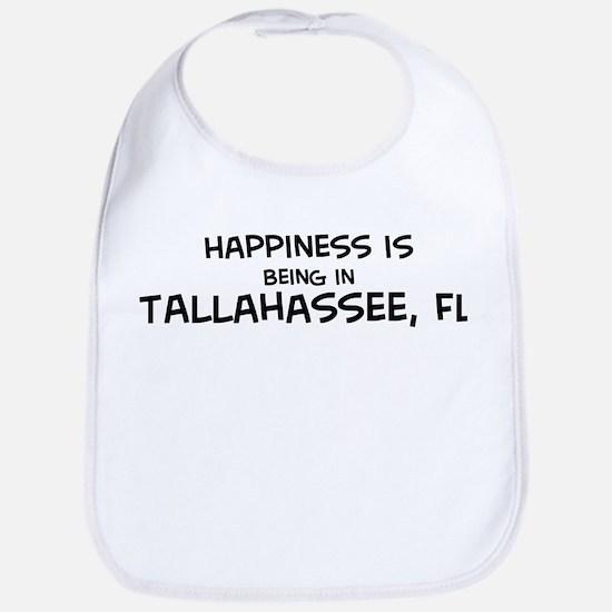 Happiness is Tallahassee Bib