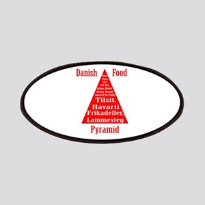 Danish Food Pyramid Patches