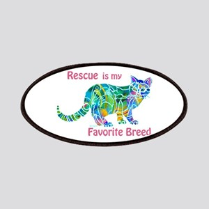 RESCUE is Favorite Breed CATS Patches