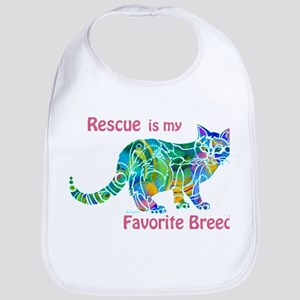 RESCUE is Favorite Breed CATS Bib