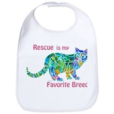 RESCUE is Favorite Breed CATS Bib