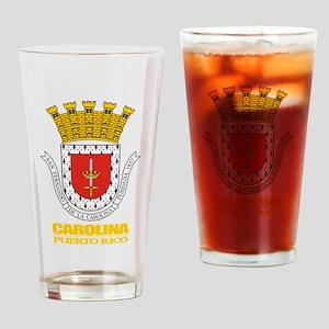 Carolina COA Drinking Glass