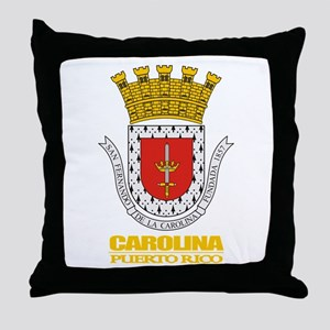 Carolina COA Throw Pillow