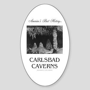 Carlsbad Caverns Americasbesthistor Sticker (Oval)