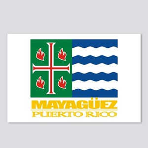 Mayaguez Flag Postcards (Package of 8)