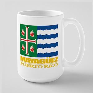 Mayaguez Flag Large Mug