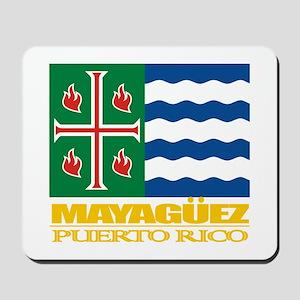 Mayaguez Flag Mousepad