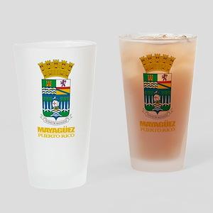 Mayaguez COA Drinking Glass