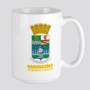 Mayaguez COA Large Mug