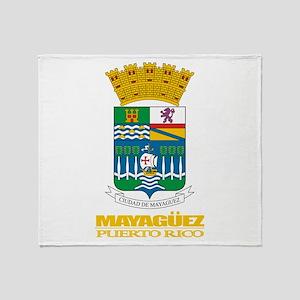 Mayaguez COA Throw Blanket