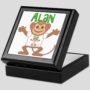 Little Monkey Alan Keepsake Box