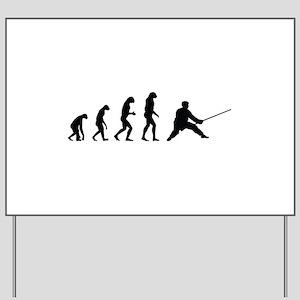 Evolution karate Yard Sign