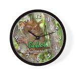Tarsier Wall Clock