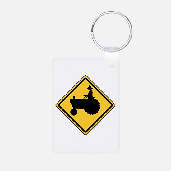 Tractor Sign Keychains