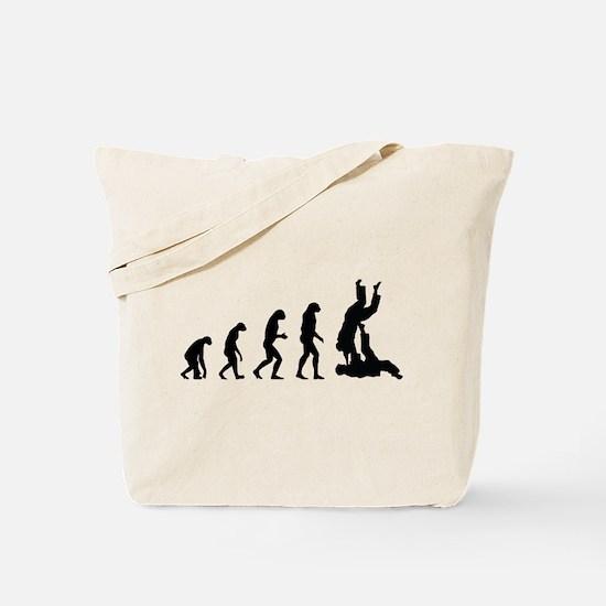 Evolution karate Tote Bag