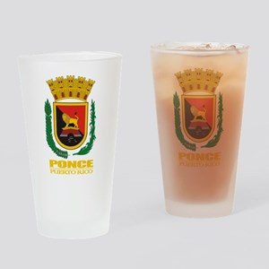 Ponce COA Drinking Glass