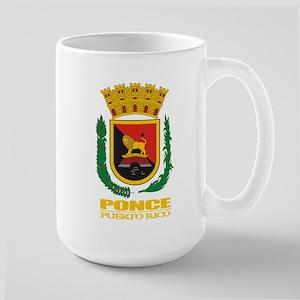 Ponce COA Large Mug