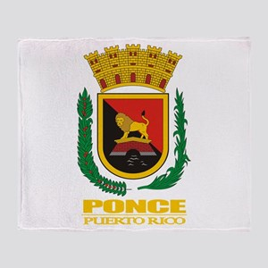 Ponce COA Throw Blanket
