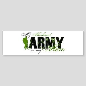 Husband Hero3 - ARMY Sticker (Bumper)