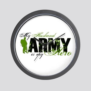 Husband Hero3 - ARMY Wall Clock
