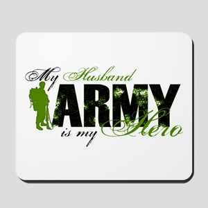 Husband Hero3 - ARMY Mousepad