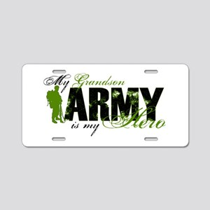 Grandson Hero3 - ARMY Aluminum License Plate