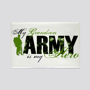 Grandson Hero3 - ARMY Rectangle Magnet