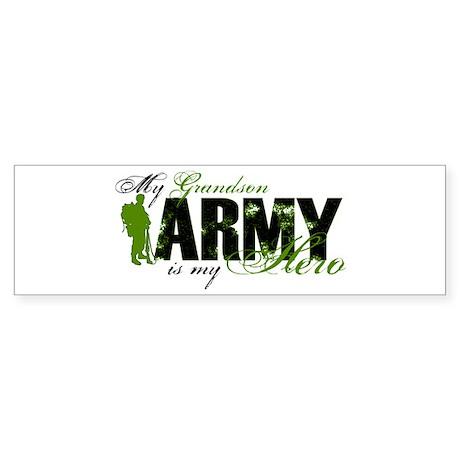Grandson Hero3 - ARMY Sticker (Bumper)