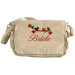 Autumn Bride Messenger Bag