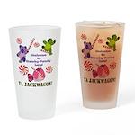 Mamby Pamby Land Jackwagon Pa Drinking Glass