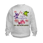 Mamby Pamby Land Jackwagon Pa Kids Sweatshirt