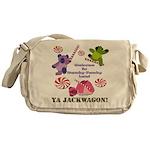 Mamby Pamby Land Jackwagon Pa Messenger Bag
