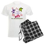 Mamby Pamby Land Jackwagon Pa Men's Light Pajamas